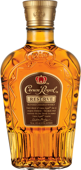 Crown Royal Reserve Whisky Bottle - Blended Canadian Whisky - Crown Royal