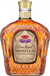 Crown Royal Vanilla Flavored Whisky Bottle - Blended Canadian Whisky - Crown Royal